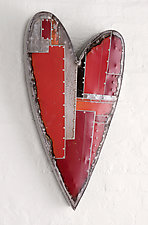 Classic Heart by Anthony Hansen (Metal Wall Sculpture)