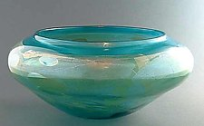 Aquabowl by Suzanne Guttman (Art Glass Bowl)