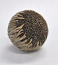 Jumbo Ceramic Rattle by Kelly Jean Ohl (Ceramic Sculpture)
