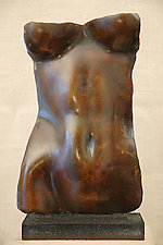 Torso: Patina Finish by Gerald Siciliano (Bronze Sculpture)