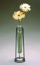 La Bloom Vase by Ken Girardini and Julie Girardini (Metal Vase)