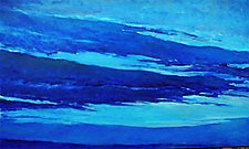 Blue Skyscape by Ken Elliott (Giclee Print)