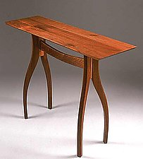 Crisfield Hall Table by Richard Laufer (Wood Hall Table)