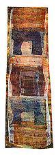 Rainforest Obelisk by Joanie San Chirico (Fiber Wall Hanging)
