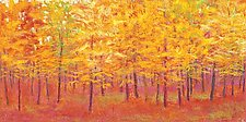 Autumn Wall by Ken Elliott (Giclee Print)