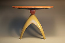 Elemental Balance by Derek Secor Davis (Wood Console Table)