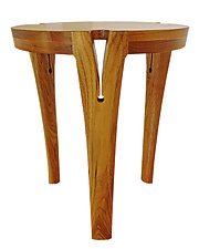 High Heel Table by Mathieu Patoine (Wood Coffee Table)