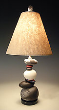 Shadow and Light by Jan Jacque (Ceramic Table Lamp)