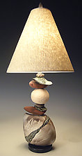Jacque Frost by Jan Jacque (Ceramic Table Lamp)