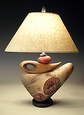 Not Knot Lamp by Jan Jacque (Ceramic Table Lamp)