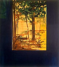 Through A Door by John Berens (Acrylic Painting)