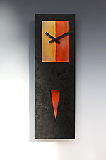 Spike Pendulum Clock by Leonie  Lacouette (Wood Clock)