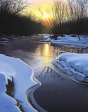 Winter Solitude by Steven Kozar (Giclee Print)