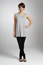 Long Basic Tank by Carol Turner  (Knit Top)