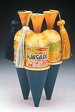 Wasabi Ring Box by Douglas W. Jones and Kim Kulow-Jones (Jewelry Box)