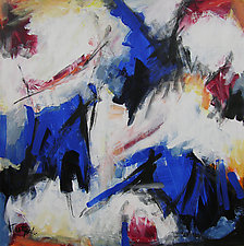 Abstract Art 41 by Lynne Taetzsch (Acrylic Painting)