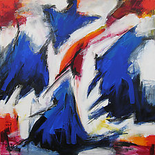 Abstract Art 42 by Lynne Taetzsch (Acrylic Painting)