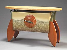 Planetree Console/Bar/Buffet by Brent Skidmore (Wood Cabinet)