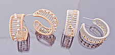 Hoop Earrings by Tana Acton (Gold & Silver Earrings)
