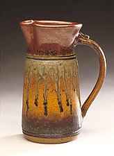 Pitcher by Mike Walsh (Ceramic Pitcher)