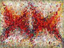 Abstract Art Eighteen by Lynne Taetzsch (Acrylic Painting)