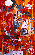 Red's Totem by Teresa Cox (Giclee Print)