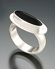 Kosmo Ring by Amy Faust (Silver & Glass Ring)