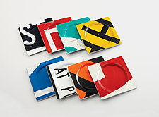 Coasters by Boris Bally (Recycled Metal Coasters)