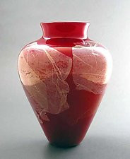 Cherry Mika by Suzanne Guttman (Art Glass Vase)