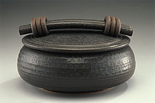 Black Casserole by Jan Schachter (Ceramic Casserole)