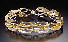 Angeline Bracelet by Thea Izzi (Silver & Gold Bracelet)
