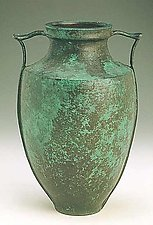 Vase with Handles by Carol Green (Bronze Vase)
