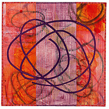 Scribble #3 by Catherine Kleeman (Fiber Wall Art)