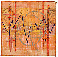 Scribble #4 by Catherine Kleeman (Fiber Wall Art)