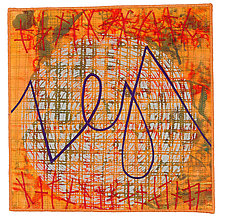 Scribble #8 by Catherine Kleeman (Fiber Wall Art)
