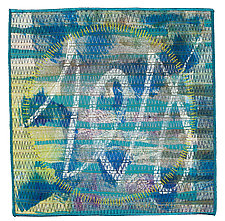 Scribble #14 by Catherine Kleeman (Fiber Wall Art)