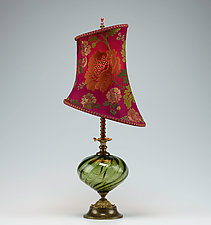 Beth by Susan Kinzig and Caryn Kinzig (Mixed-Media Table Lamp)