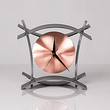 BAC Clock by Ken Girardini and Julie Girardini (Metal Clock)
