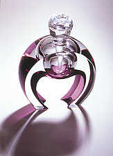 Horseshoe Perfume by Mary Ellen Buxton and Kevin Kutch (Art Glass Perfume Bottle)