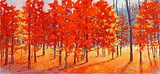 Red Run by Ken Elliott (Giclee Print)