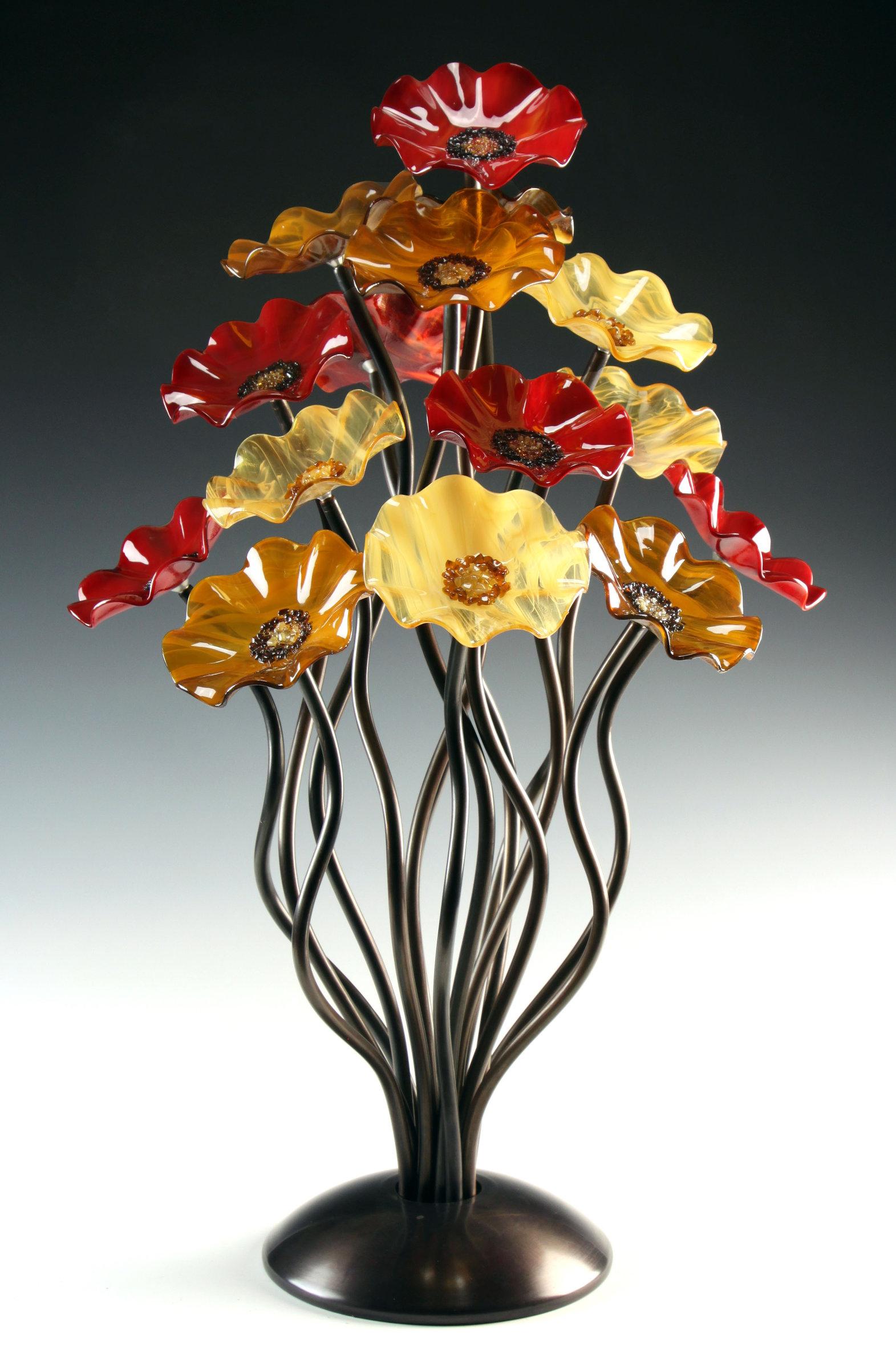 Breckenridge Tree by Scott Johnson and Shawn Johnson (Art Glass Sculpture)  | Artful Home