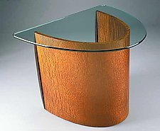 Side Arch Table by Richard Judd (Wood Side Table)