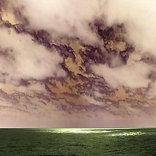 Storm Clouds Breaking by Marcie Jan Bronstein (Color Photograph)
