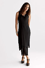 Petite Sleeveless Mesh Dress by Cynthia Ashby  (Knit Dress)