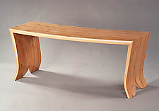 Bamboo Bench by David N. Ebner (Bamboo Bench)