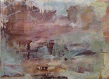 Stalagmite Stalactite by Robin Feld (Oil Painting)