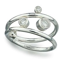 Ring by Elizabeth Garvin (Silver & Stone Ring)