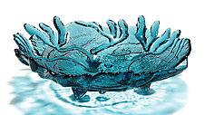 Tidal Bowl by Hudson Beach Glass (Art Glass Bowl)