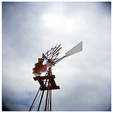 Windmill by Tanya Hoggard (Color Photograph)