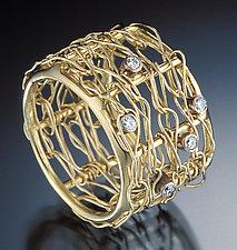 18K Ring by Randi Chervitz (Diamond & Gold Ring)
